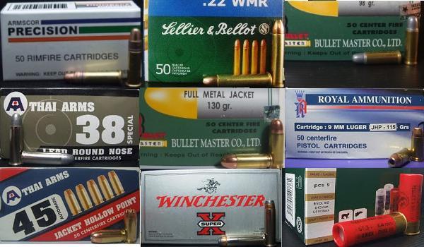 ขายลูกกระสุนปืนหลายขนาด ทั้งปลีกและส่ง ซื้อสินค้าได้ง่ายๆและสะดวกรวดเร็ว ไม่ต้องเสียเวลาออกไปหาซื้อที่ร้าน เรามีบริการส่งสินค้าให้ท่านถึงบ้านในราคาที่เป็นกันเอง (สำหรับผู้ที่มีอายุ 25ปีขึ้นไป หรือได้รับอนุญาตถูกต้องตามกฏหมายเท่านั้น)