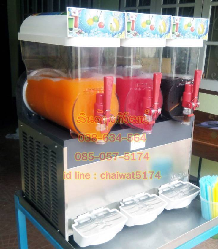 เครื่องทำสะเลอบี้ เครื่องทำสเลิฟบี้ เครื่องทำน้ำหวานเกล็ดหิมะ เครื่องทำน้ำเกล็ดหิมะ