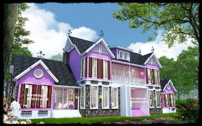 ขายแบบบ้านสวยๆ ทันสมัย หลากหลายสไตล์  บ้านชั้นเดียว แบบสำนัก