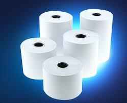 กระดาษสลิป กระดาษบวกเลข กระดาษความร้อน   กระดาษThermal กระดาษแคชเชียร์ Slip Printer