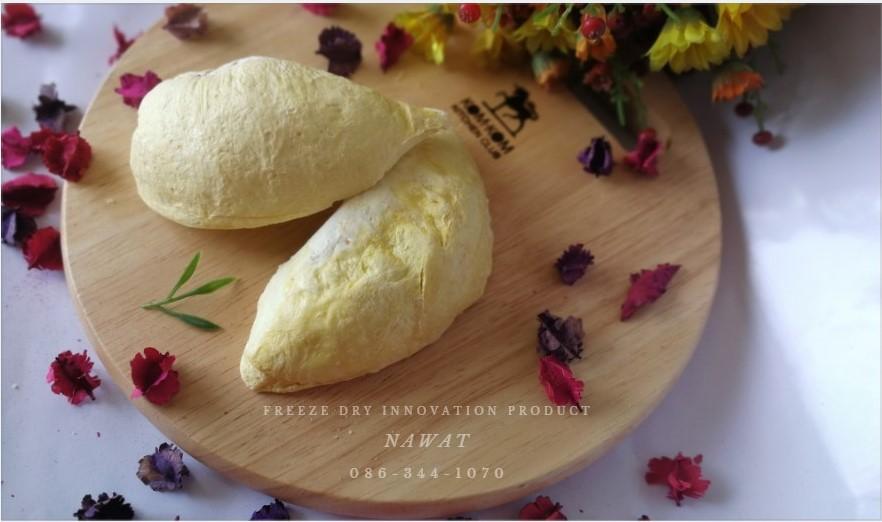 ผลิตและจัดจำหน่าย ทุเรียนอบกรอบ ฟรีซดราย (Freeze Dried) และผลไม้ต่างๆ