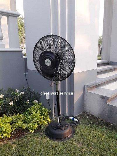 บริการให้เช่าพัดลมไอน้ำ  ไอเย็น ธรรมดา แอร์ โต๊ะ เก้าอี้ อุปกรณ์จัดงาน Chotiwat service  086-6998598, 089-1291895
