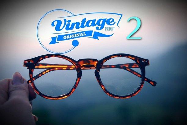ร้านกรอบแว่นตาแนวๆ สไตล์ Vintage /Retro /Classic /Nerd Look/Hipster