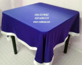 ออกแบบและรับตัด ผ้าปูโต๊ะกลม ผ้าปูโต๊ะเอนกประสงค์ทุกชนิด