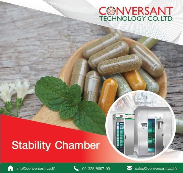 ตู้ควบคุมอุณภูมมิและความชื้น Stability Chamber ห้องควบคุมอุณหภูมิและความชื้น Walk-In Stability Chamber