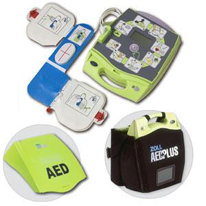 จำหน่าย ขาย AED (เครื่องปฐมพยาบาลเบื้องต้น) รุ่น ZOLL AED PLUS
