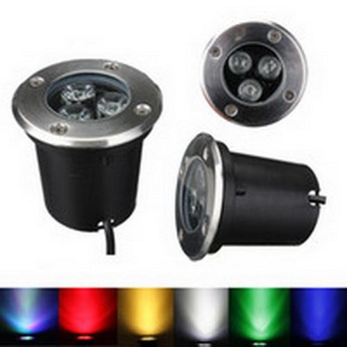 โคมไฟ LED ส่องต้นไม้ แบบติดลอย ฝังพื้น DC/AC
