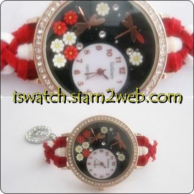 นาฬิกาแฮนด์เมดสายถัก นาฬิกาสายถัก นาฬิกาแฟชั่นสายถัก