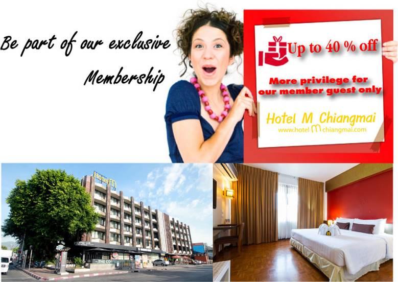 Hotel M Membership 1400++