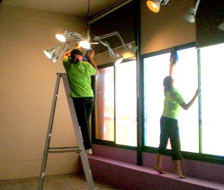 บริษัทแม่บ้านทำความสะอาด แอท วัน เซอร์วิส  บริการแม่บ้านทำความสะอาด 02-3501318