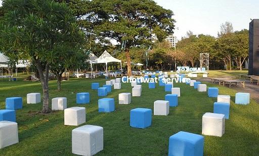 บริการให้เช่าเก้าอี้ลูกเต๋า เก้าอี้พลาสติก เก้าอี้เบาะ โต๊ะ อุปกรณ์อื่นๆ Chotiwat service  086-6998598, 089-1291895