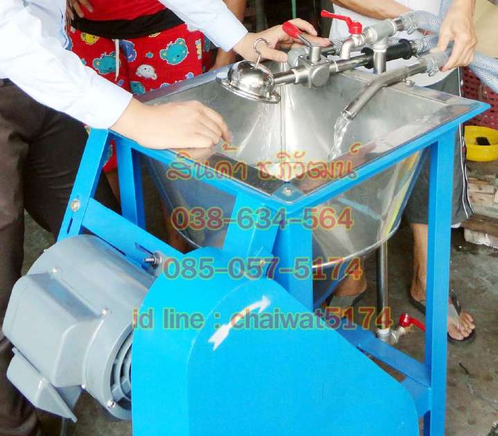 เครื่องทำขนมจีน เครื่องโรยเส้นขนมจีน เครื่องบีบเส้นขนมจีน เครื่องนวดแป้งขนมจีบแบบมีเกียร์
