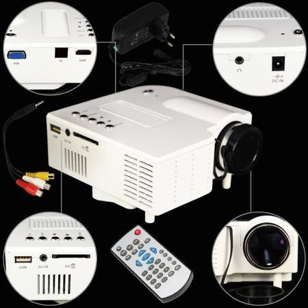 ขายโปรเจคเตอร์ขายเครื่องฉาย projector Mini โปรเจคเตอร์ราคาถูกโทร0966263654