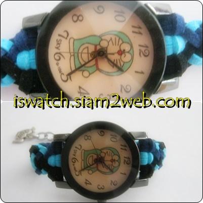 นาฬิกาแฮนด์เมดถักสาย นาฬิกาถักสาย นาฬิกาแฟชั่นถักสาย