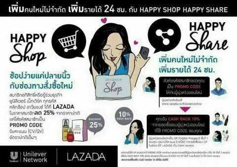 Happy shop Happy share