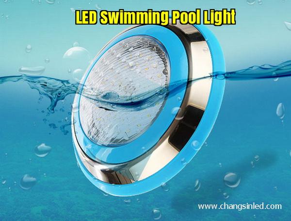 โคมไฟ LED สระว่ายน้ำ Pool Light