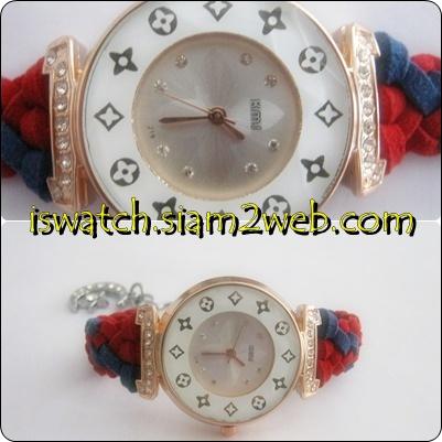 นาฬิกาถักสาย