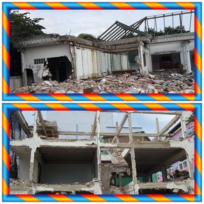 รื้ออาคารโชรูมเก่า รื้อโรงงาน รื้อถอน ทุบบ้านฟรี  0946480678  รื้อโกดัง ซื้อโครงสร้าง