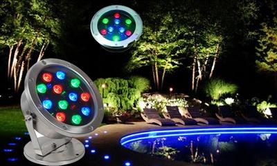 โคมไฟใต้น้ำ LED