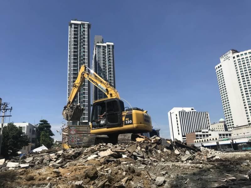 บริการ ทุบตึก บ้าน รื้อถอน อาคาร รื้อถอนสิ่งปลูกสร้าง ปรึกษาฟรี โทร. 0616463656