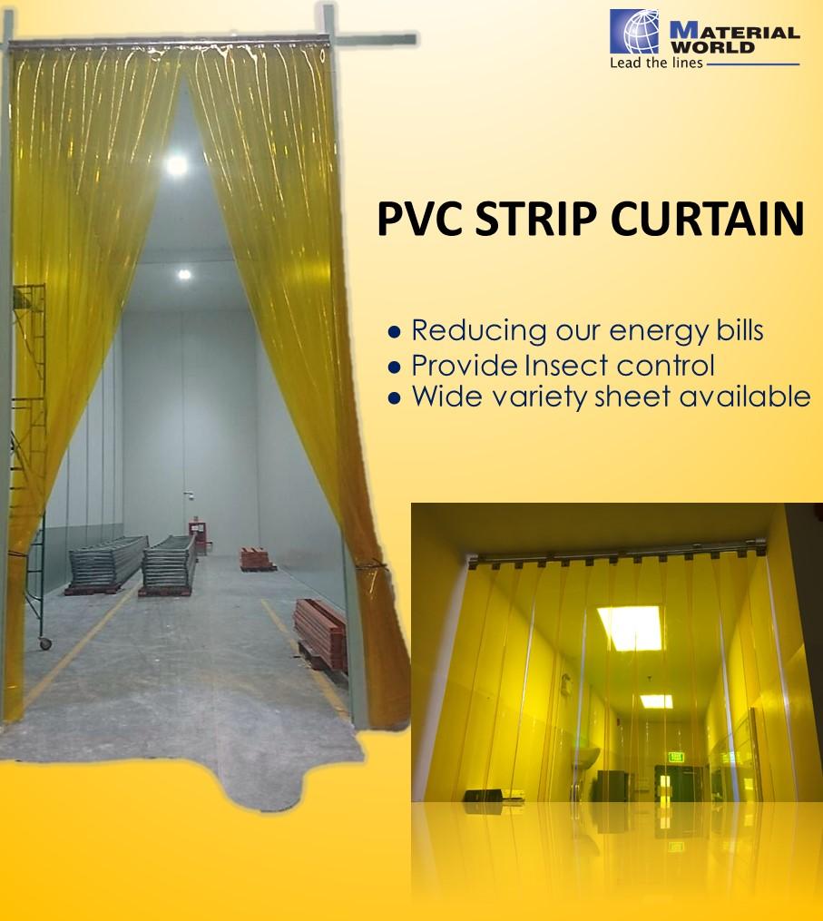 ม่านพลาสติก PVC (PVC Strip Curtain)